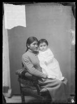 Annette Suisson with her daughter Eunice [version 1], 1888