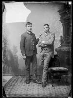 Hugh James and Charles D. Wheelock, c.1889