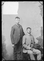 James Black Hawk and Davis Rice Hill, c.1889