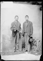 Simon King and Martin Archiquette [?], 1891