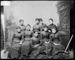 Nine female students [version 2], 1887