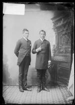 Reuben Wolf and Levi Levering, c.1886