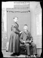 Cynthia Webster and John Webster, c.1890