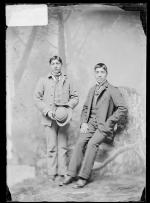 Jimmie McAdams and Willie Norkok [?], c.1890