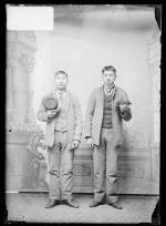 Daniel Jackson and Wallace Williams, c.1890