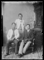 Three unidentified male students #5, c.1885