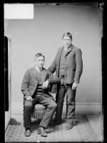 Christopher Tyndall and Harry Shirley, 1888