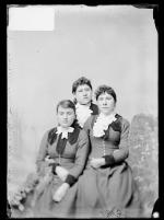 Rose Wilde, Ella Rickert, and Mary Wilkinson, c.1893
