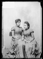 Lucy Cloud and Aggie Cloud, 1890