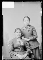 Meta Atsye and Lora Situwitsuh [version 1], c.1885