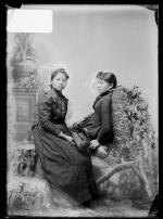Winnie Conners and Jennie Conners [version 1], c.1887