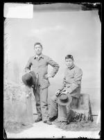 Perry Tsamanwa and Asbury Carke, 1891