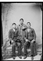 Three unidentified male students #6, c.1885