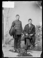 Calvin Kauley and Luther Dah-hah, c.1889