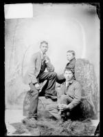 Nelson Green, Roger Silas, and John Hill, c.1889