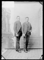 Reuben Wolf and Robert Matthews, c.1887