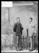 William Tivis and Frank Everett, c.1888