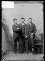 Jonas Place, Justin Shedee, and Modoc Wind, c.1887