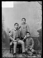 Jasper Kanseah, Alfred Eateh, and Joseph Ezhuna [version 1], c.1887