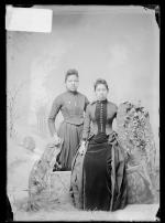 Florence Miller and Orpha Miller [version 1], c.1889