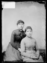 Susie Bond and Susie Gray, c.1885