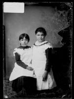 Bertha Nason and Madge Nason [version 1], c.1884