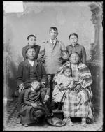 Chief Killer and his family, 1906