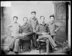Five unidentified male students #1, c.1890