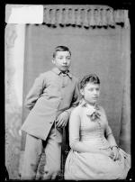 James R. Wheelock and Cecelia Wheelock, c.1889