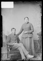 Ernie and Jennie Black, c.1886 [version 1]