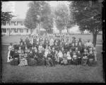 Richard Henry Pratt with school employees and their families [version 1], 1886