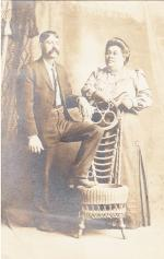 Ellen and Charles King, c.1915