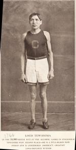 Lewis Tewanima in Track Uniform, #1, c.1912