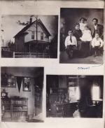 Benjamin Caswell's house and family, c.1910