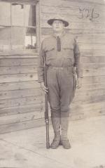 Corporal Spencer Patterson, c.1918