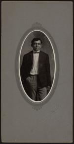 Male Student, possibly Josiah Charles, c.1905