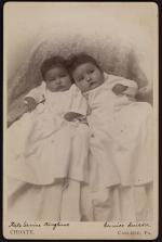 Kate Kinzhuna and Eunice Suisson (pose #1) [version 2], 1888