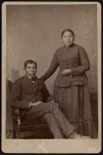 Ernie and Jennie Black, c.1886 [version 2]