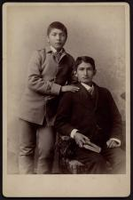 James H. Miller and Francis H. Ortiz [version 2], c.1885
