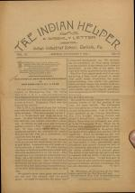 The Indian Helper (Vol. 11, No. 10)