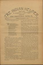 The Indian Helper (Vol. 11, No. 11)