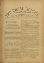 The Indian Helper (Vol. 12, No. 14)