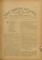 The Indian Helper (Vol. 12, No. 15)