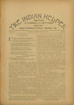 The Indian Helper (Vol. 12, No. 18)