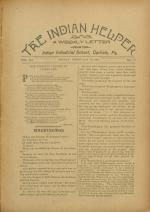 The Indian Helper (Vol. 12, No. 19)