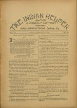 The Indian Helper (Vol. 12, No. 20)