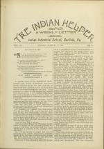The Indian Helper (Vol. 12, No. 23)
