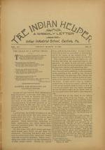 The Indian Helper (Vol. 12, No. 24)