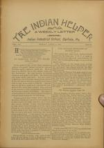 The Indian Helper (Vol. 12, No. 25)