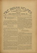 The Indian Helper (Vol. 12, No. 26)